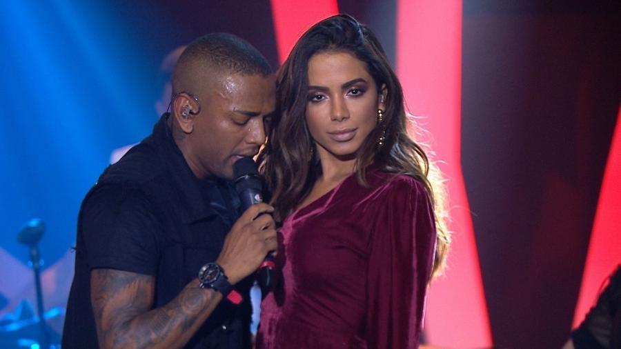 Anitta e Nego do Borel - Reprodução/Rede Globo
