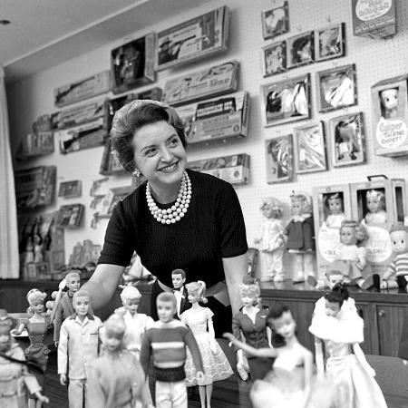 Ruth Handler, criadora da boneca Barbie - Divulgação