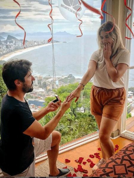 Sandro Pedroso pede Jéssica Costa em casamento - Reprodução/Instagram