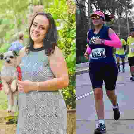 Ludmila teve depressão após sofrer um aborto e perder a cachorrinha de estimação, mas superou a doença e emagreceu 23 kg com ajuda da atividade física - Arquivo pessoal