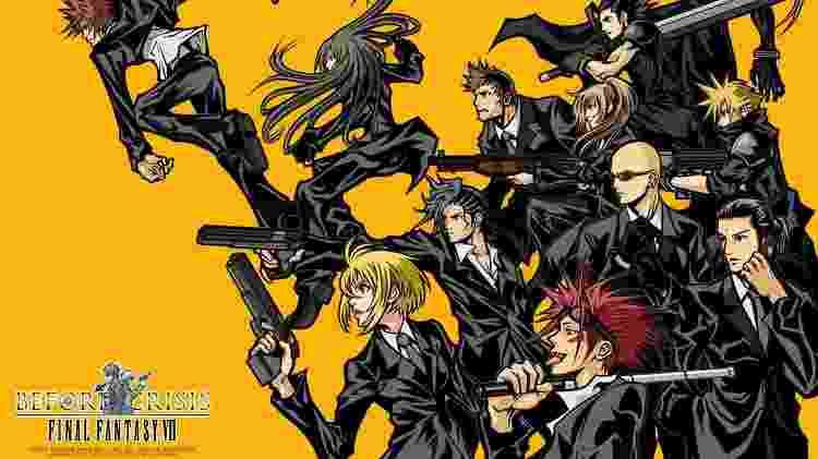 Before Crisis: Final Fantasy VII - Reprodução - Reprodução