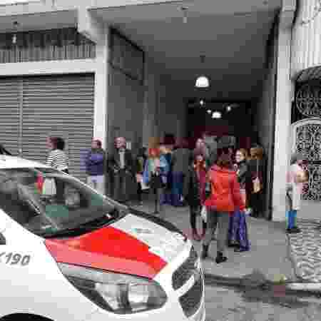 """Polícia Militar informa que foi ao local verificar """"concentração de pessoas"""" - Arquivo Pessoal"""
