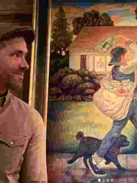 Ryan Reynolds mostra presente que recebeu de sua mulher, Blake Lively - Reprodução/Instagram