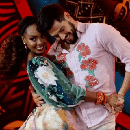 Dandara Mariana não conseguiu manter o bom desempenho da primeira noite da Dança - Reprodução/Globo