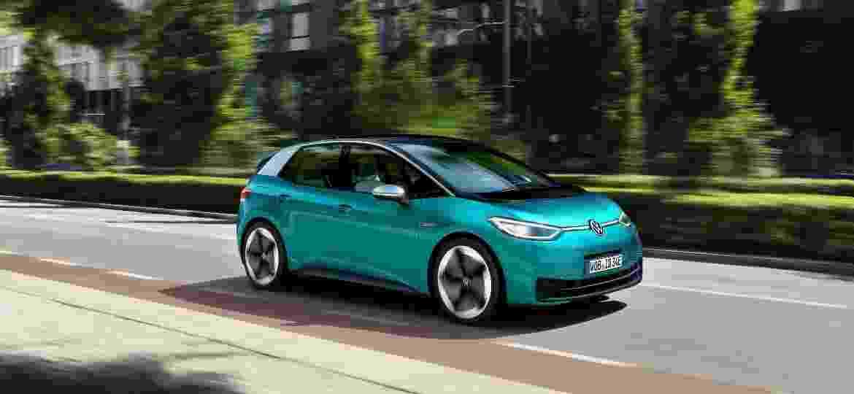 Compacto ID.3 promete ser um dos campeões de vendas da Volkswagen - Volkswagen/Divulgação