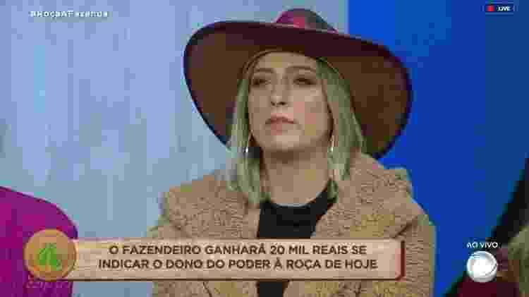 Tati Dias - Reprodução/RecordTV - Reprodução/RecordTV