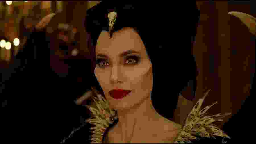 Angelina Jolie em cena de Malévola - Dona do Mal - Divulgação