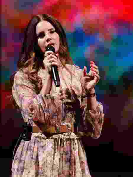 A cantora americana Lana Del Rey - Andrew Chin/Getty Images