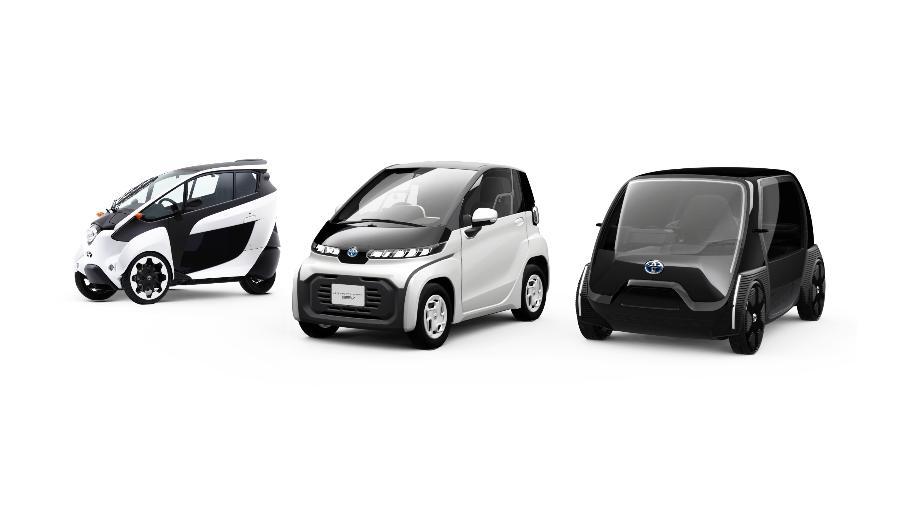 Toyota apresentou veículos eletrificados que serão utilizados na Olimpíada de Tóquio a partir desta semana, mas cancelou anúncios publicitários - Divulgação