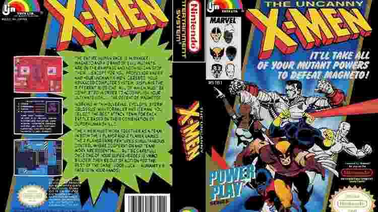 """""""The Uncanny X-Men"""" foi o primeiro de super-heróis que Ryan jogou - Divulgação"""