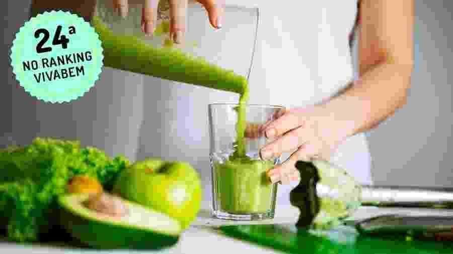 Dieta líquida foca em sucos, shakes e sopas por até 7 dias - iStock / Arte UOL