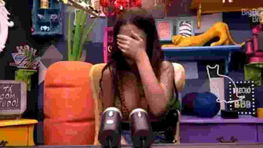 Bianca Andrade também pediu desculpas no raio-x de ontem - Reprodução/Globoplay