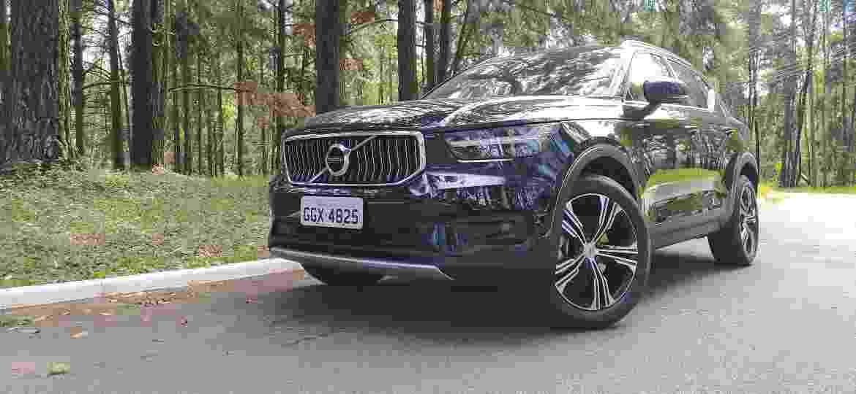 Volvo XC40 trouxe novas versões e motorização híbrida na linha 2020 - Vitor Matsubara/UOL