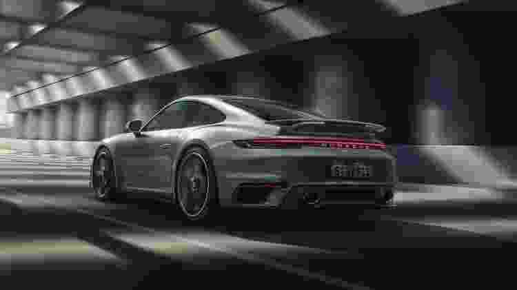 Novo Porsche 911 Turbo S 1 - Divulgação - Divulgação