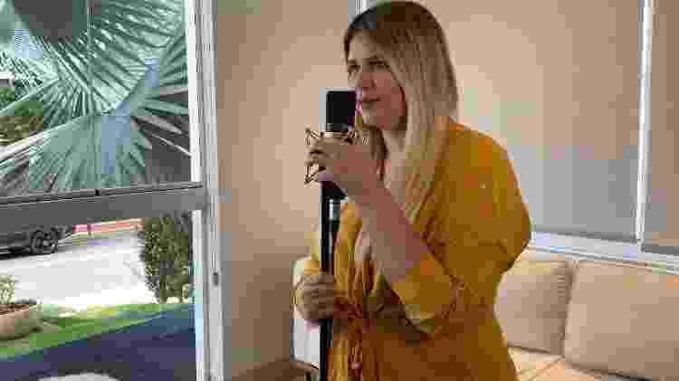 Marília Mendonça grava música nova em casa - Reprodução/Instagram - Reprodução/Instagram