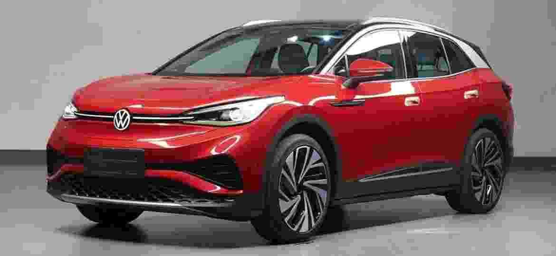 Volkswagen ID.4 X será produzido pela joint-venture com a SAIC - Divulgação