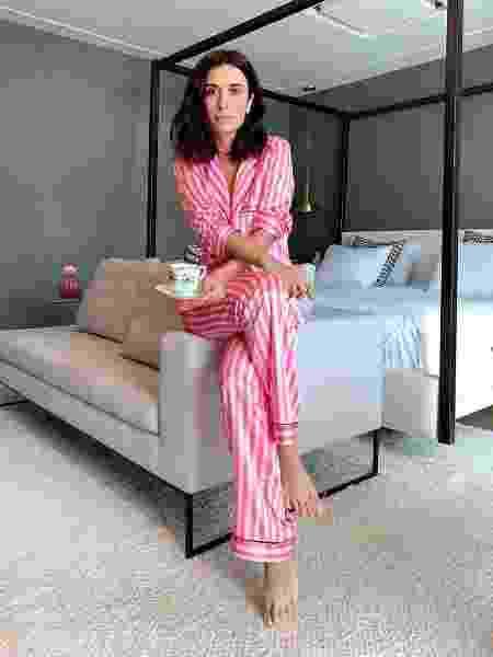 Silvia Braz exibe seu pijama - Reprodução/@silviabraz/Instagram