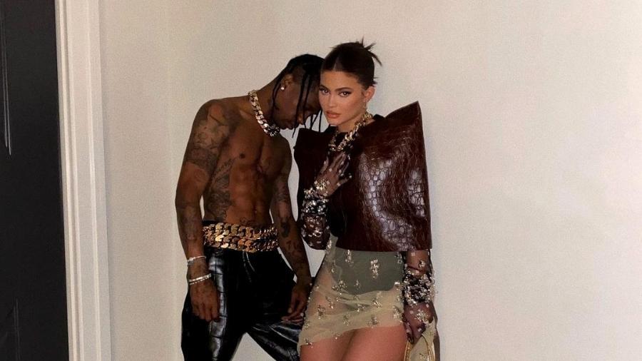 Kylie Jenner e Travis Scott posam juntos - Reprodução/Instagram