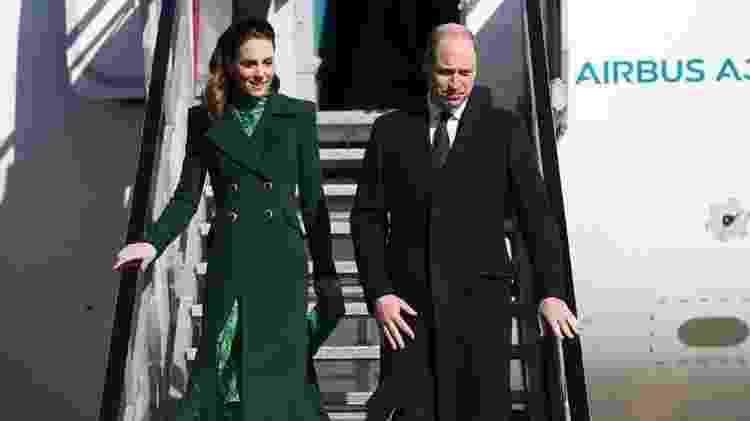 Em compromisso oficial, o duque e a duquesa de Cambridge foram recentemente à República da Irlanda - Julien Behal - Julien Behal