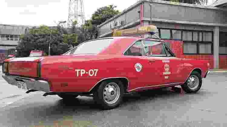 Dodge Dart dos bombeiros - Divulgação - Divulgação
