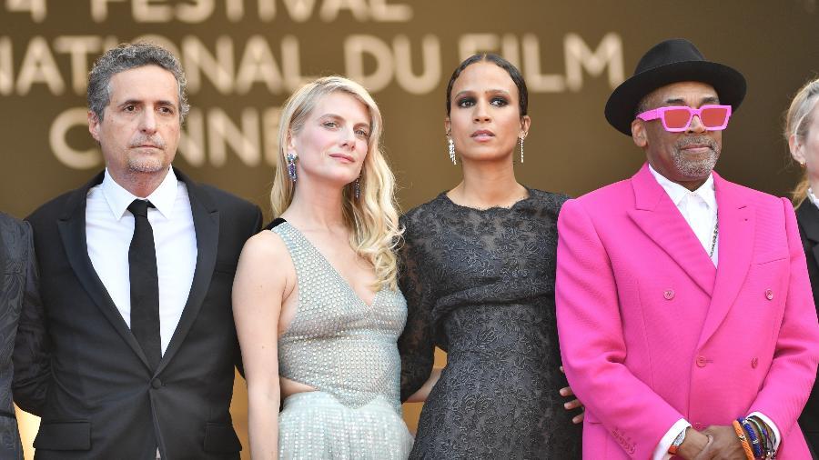 Spike Lee, Melanie Laurent, Mati Diop e Kleber Mendonca Filho - Anadolu Agency/Anadolu Agency via Getty Images