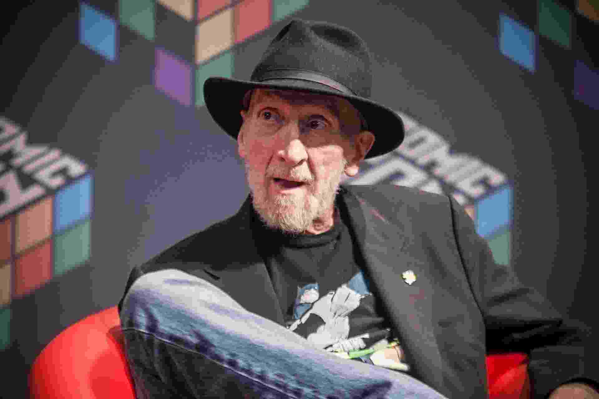 6.dez.2015 -  Frank Miller na Comic Con Experience 2015 - Lucas Lima/UOL