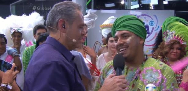 Incomodado com barulho no estúdio, Luís Roberto pede Fátima e convidados para fazerem silêncio