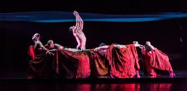 """Espetáculo """"Orpheus"""", da Studio3 Cia. de Dança - Divulgação"""
