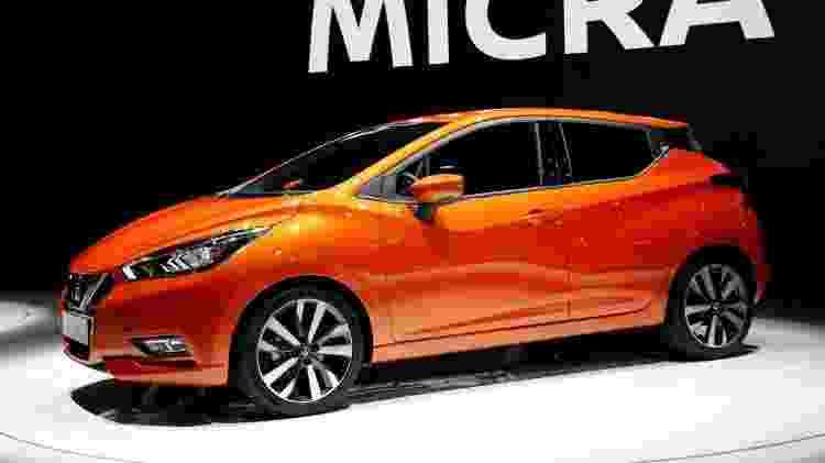 Nissan March Micra paris - Benoit Tessier/Reuters - Benoit Tessier/Reuters