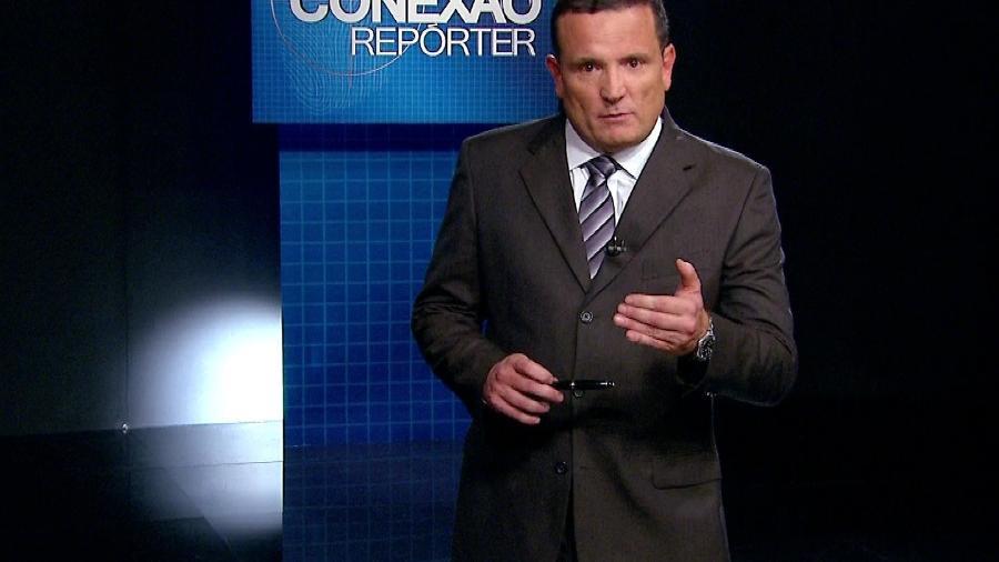 """Roberto Cabrini no """"Conexão Repórter"""", um dos destaques do jornalismo do SBT - Divulgação"""