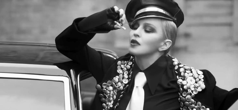"""Madonna em cena do curta """"Her-Story"""" - Reprodução"""