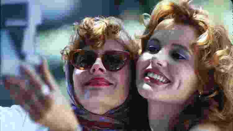 """Cena do filme """"Thelma & Louise"""" (1991), de Ridley Scott - Reprodução - Reprodução"""