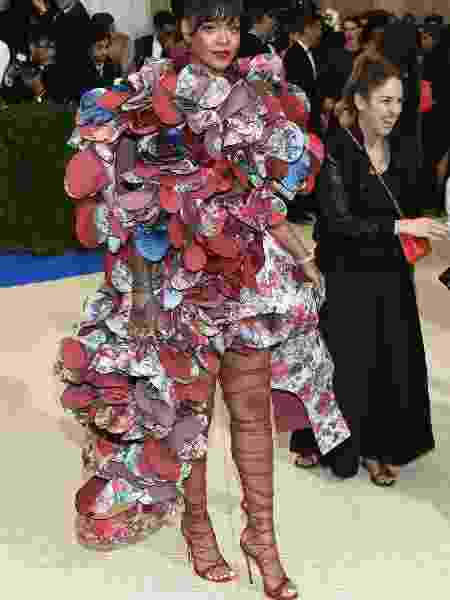 Rihanna no Met Gala 2017 - Getty Images - Getty Images