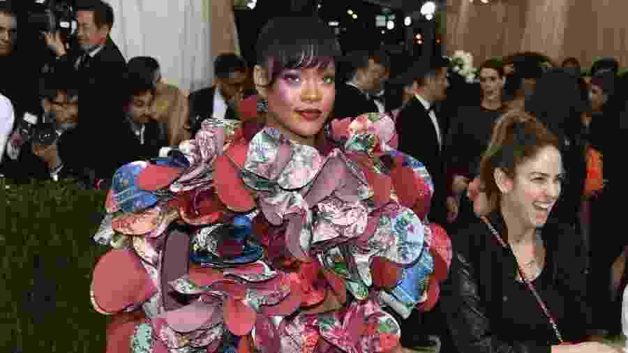 Rihanna no Met Gala 2017 - Getty Images