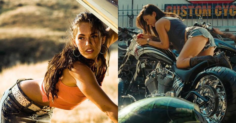 Cena de ?Transformers? (2007), de Michael Bay e Cena de ?Transformers: A Vingança dos Derrotados? (2009), de Michael Bay