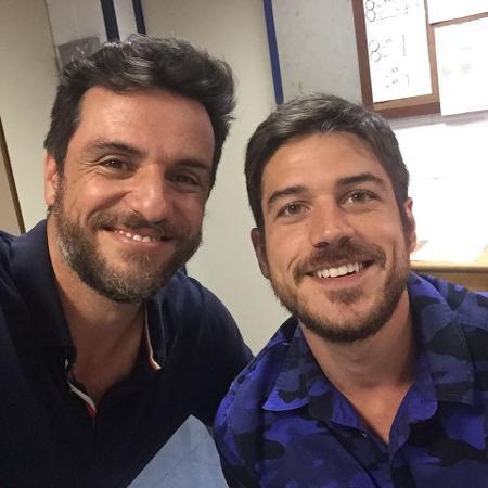 Rodrigo Lombardi e Marco Pigossi - Reprodução/Instagram