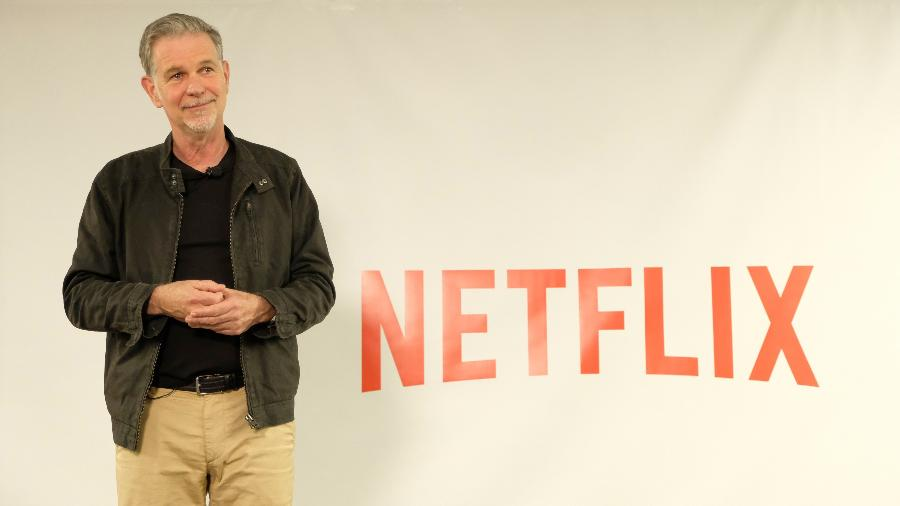 CEO da Netflix, Reed Hastings discutiu gastos, competição e cláusula da diversidade em evento para a imprensa em Los Angeles - Divulgação/Netflix