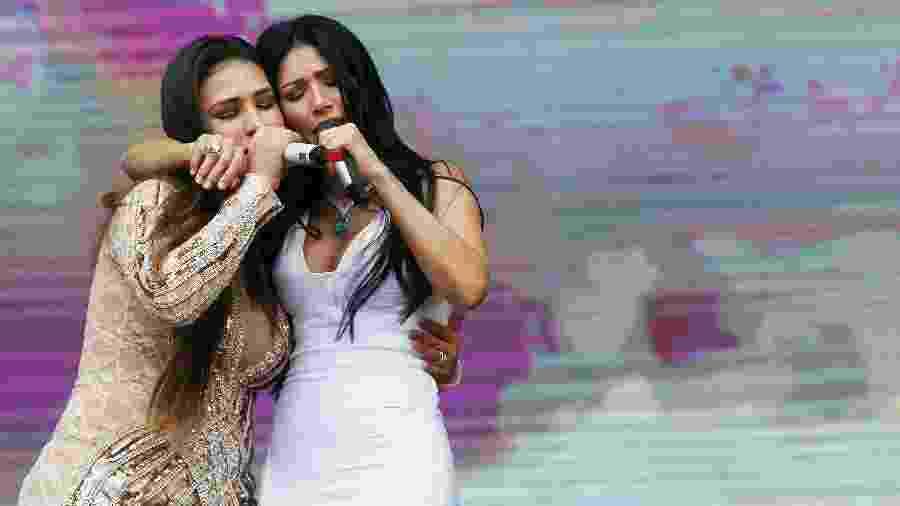 Simone e Simaria se apresentam no festival Villa Mix, no Allianz Parque, em São Paulo - Flávio Florido/UOL