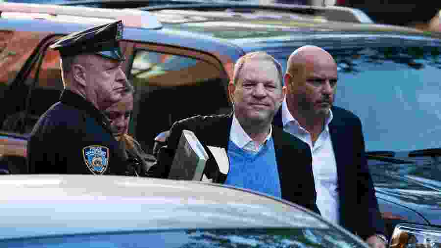 Harvey Weinstein se entrega à polícia de Nova York -  Kevin Hagen/Getty Images