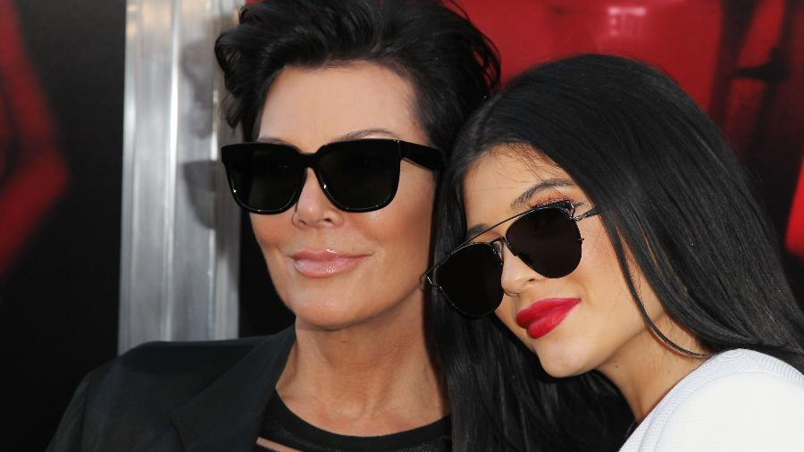 Kris e Kylie Jenner - Getty Images