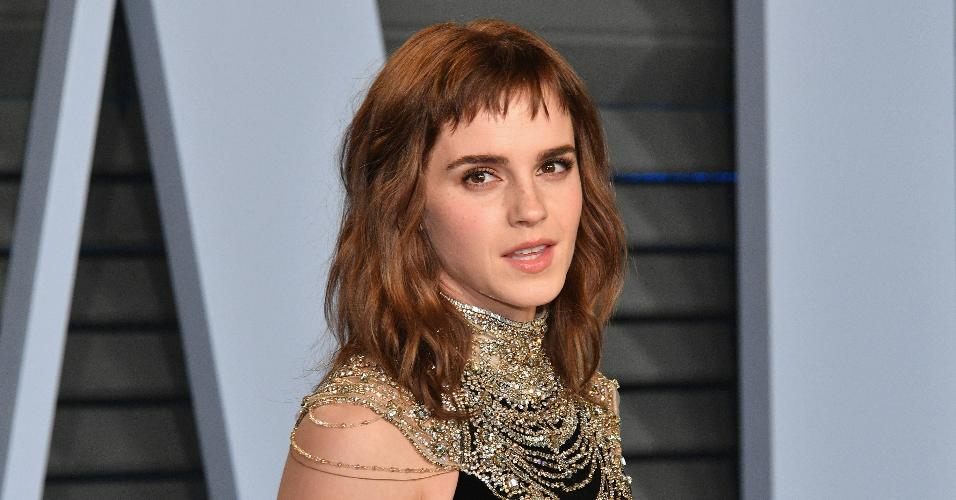 A atriz Emma Watson