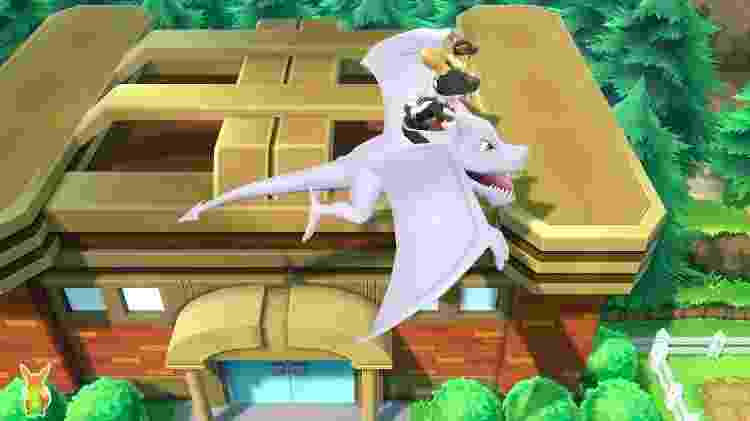 """Voar em """"Pokémon Let's Go"""" é uma enorme vantagem - Reprodução"""