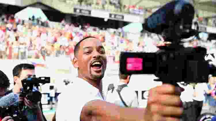 Will Smith gravou pro seu vlog - Clive Mason/Getty Images - Clive Mason/Getty Images