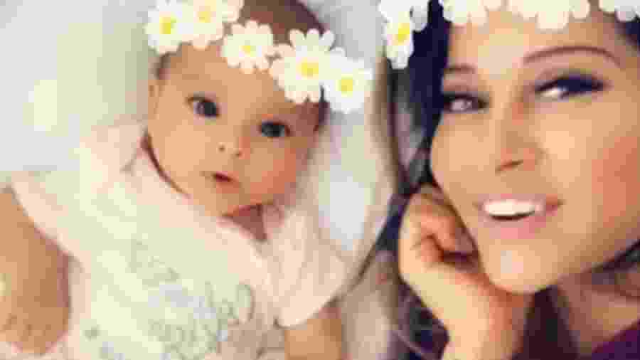 Mayra Cardi e a filha Sophia - Reprodução/Instagram