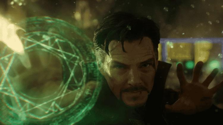 Benedict Cumberbatch em cena de Doutor Estranho - Reprodução - Reprodução