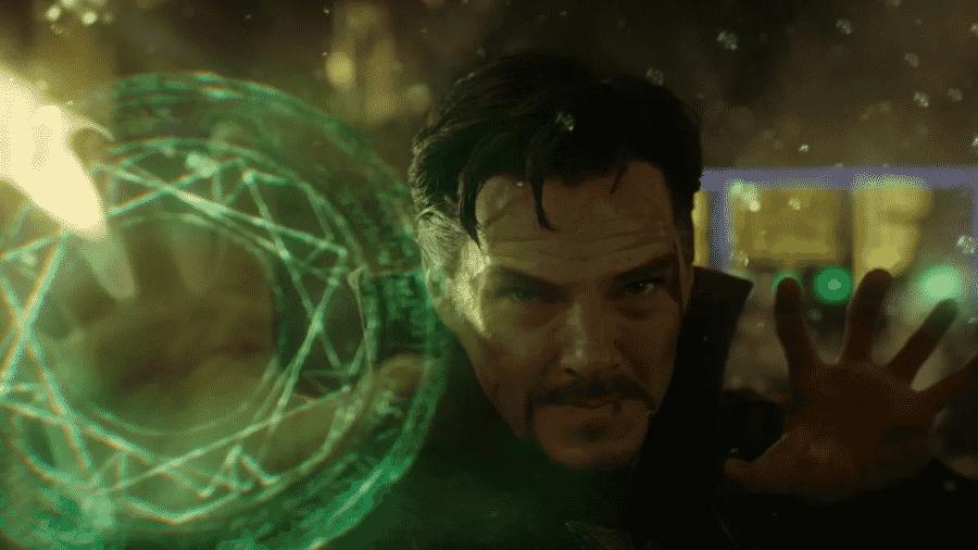 Benedict Cumberbatch como o Doutor Estranho - Reprodução