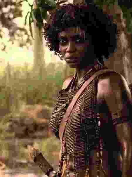 """A atriz Lesliana Pereira em """"Njinga Rainha da Angola"""", filme de 2013 - Reprodução"""