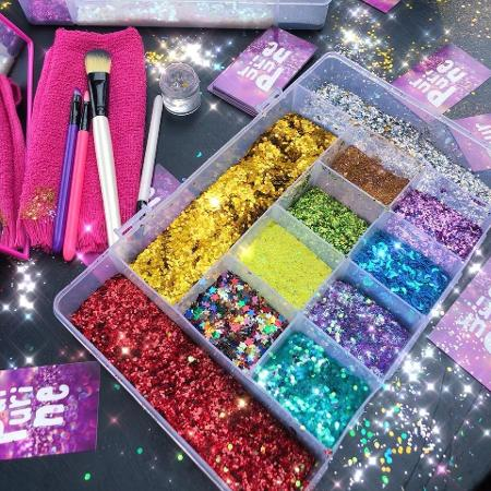 Glitter é a palavra da semana! - Purpurine