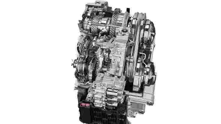 """CVT da Toyota: relações se alternam de forma continua, mas software programa """"degrau"""" para marcha virtual - Divulgação"""
