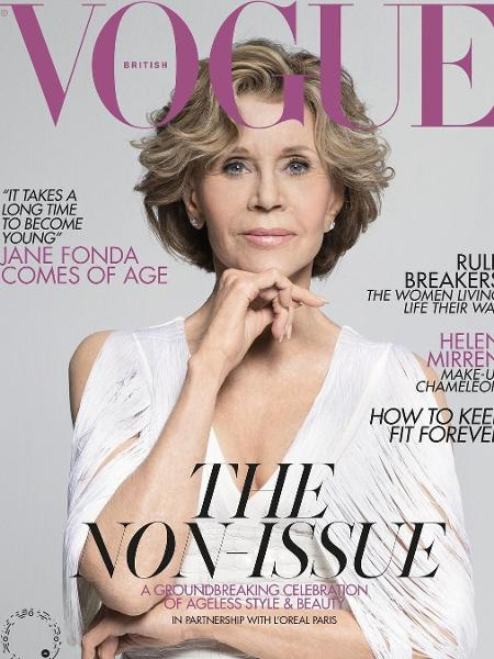 341207a84 Capa da Vogue aos 81, Jane Fonda diz: